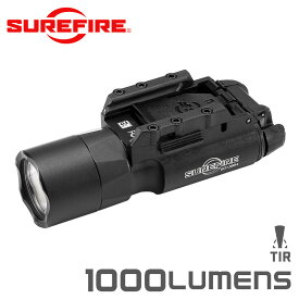 SUREFIRE シュアファイア X300U-A LEDウェポンライト / フラッシュライト 1000ルーメン BLACK【クーポン対象外】
