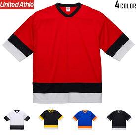 【メーカー取次】United Athle ユナイテッドアスレ 4.1オンス ドライ ホッケー Tシャツ[5935]【Sx】