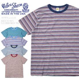 【店内20%OFFセール開催中】Velva Sheen ベルバシーン MADE IN USA 16191X BACK TO 90'S 半袖 クルーネックTシャツ