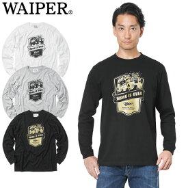 WAIPER.inc 1819112 WORK IS OVER ロングスリーブ Tシャツ【Sx】