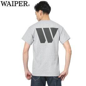 【即日出荷対応】WAIPER.inc 1920005 W BROKEN PYRAMID リフレクタープリントTシャツ【Sx】