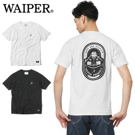 WAIPER.inc 1819002 READY パイロットプリント Tシャツ【Sx】