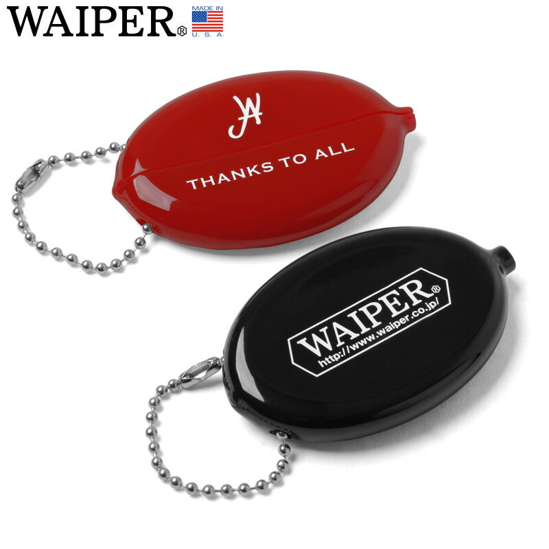 WAIPER.inc MADE IN USA COIN CASE コインケース【クーポン対象外】
