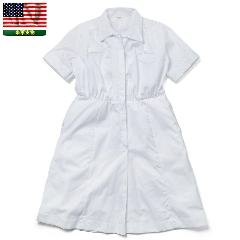 【20%OFFクーポン対象】実物 新品 米軍 HOSPITAL DUTY UNIFORM ドレス