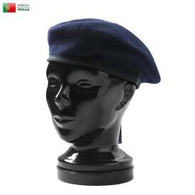 【25%OFFクーポン対象】実物 新品 ポルトガル軍 ウールベレー 《WIP03》