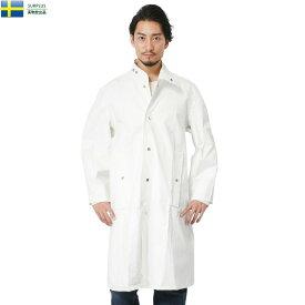 【実物放出品25%OFFセール!】実物 新品 スウェーデン軍 メディカル PVC レインコート 《WIP03》