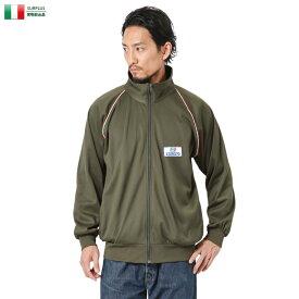 【実物放出品25%OFFセール!】実物 USED イタリア軍 トレーニング ジャケット スタンドカラー