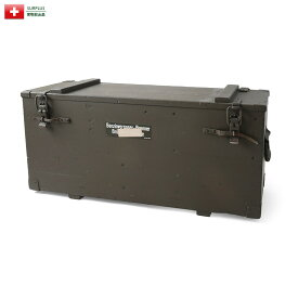 実物 USED スイス軍 ガソリンバーナー用ウッドボックス【個別送料160サイズ】
