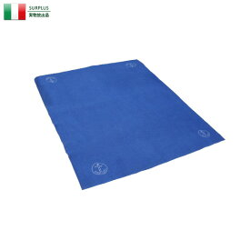 【実物放出品20%OFFセール!】実物 USED イタリア軍 ブランケット BLUE