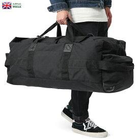 【実物放出品20%OFFセール!】実物 USED イギリス軍 BLACK DEPLOYMENT バッグ 3バックル / バックパック