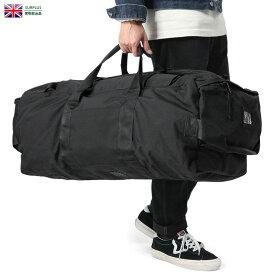 【実物放出品20%OFFセール!】実物 USED イギリス軍 BLACK DEPLOYMENT バッグ 2バックル / バックパック