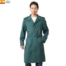 実物 新品 スペイン市民警備隊 ウールギャバジンコート