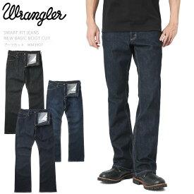 【店内20%OFFセール開催中】Wrangler ラングラー WM3907 NEW BASIC ブーツカット ストレッチ デニムパンツ《WIP03》メンズ ジーンズ Gパン ジーパン ワークパンツ アメカジ ブランド