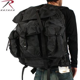 ROTHCO 로스 미군 배낭 G.I ALICE PACK LARGE 블랙 가방 가방 밀리터리 미군