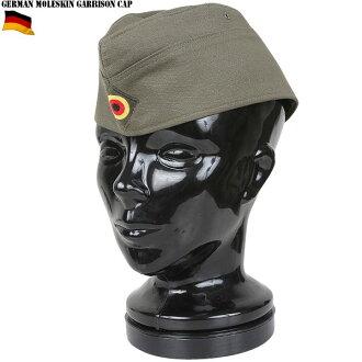 被叫做實物新貨德國軍morusukingyarisonkyappumorusukin JKT和同材料的傳統的樣式的帽子kokarude(國家章)的織製的帽徽從屬于