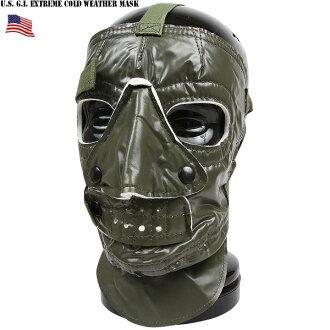 適合供實物新貨美軍防寒面罩美軍的極度嚴寒地方使用的尼龍防寒面罩冬季體育或者冬天的摩托車的駕駛