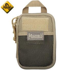 MAGFORCE マグフォース MF-0259 Pocket Organizer Tan ポケットサイズのオーガナイザーポーチ コンパクトでスッキリと持ち運び可能【So】