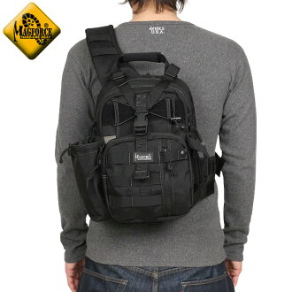 MAGFORCE 찻잔 포스 MF-0434 Mini Archer Sling Bag Black 핸들을 어깨의 2 본 사용 가능한 컴팩트 하 게 디자인 된 MiniArcher SlingBag