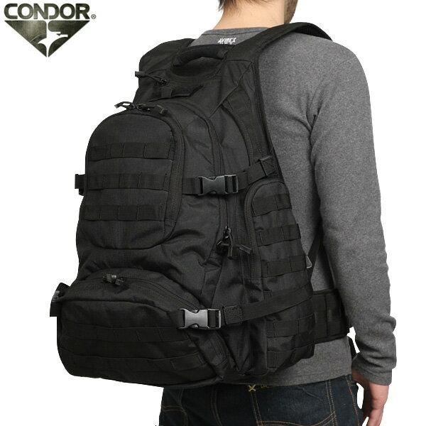 CONDOR コンドル URBAN GO バックパック BLACK 【147】 大容量で使い勝手抜群な多機能バックパック 幅広く活用できる事間違いなし【WIP03】 【クーポン対象外】