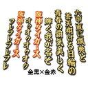 【プロ野球 阪神タイガースグッズ】六甲おろしワッペン1番(大)