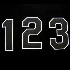 【プロ野球 阪神タイガースグッズ】背番号ワッペン(2014年版・ホーム)