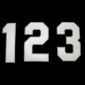 【プロ野球 阪神タイガースグッズ】背番号ワッペン(2014年版・ビジター)