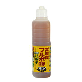 肥料 活力液 有機 高濃度フルボ酸活力液アタックT-1 800ml 花ごころ A