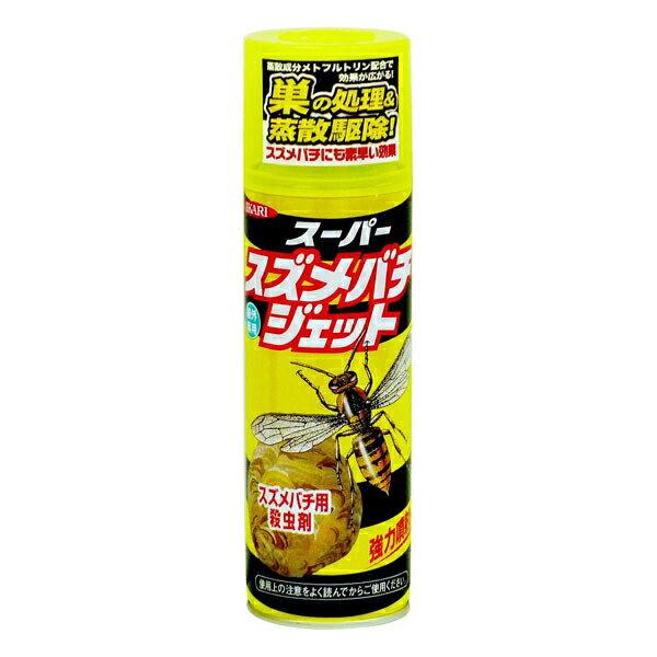 【A】イカリ消毒 害虫退治 ハチ対策 スーパースズメバチジェット 480ml