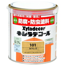 大阪ガスケミカル 油性塗料 キシラデコール 家庭用 カラレス 0.7L