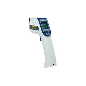 シンワ測定 放射温度計 C レーザーポイント機能付 放射率可変タイプ 73014
