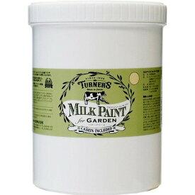 ターナー色彩 ミルクペイント for ガーデン バタークリーム MKG12312 1.2L B