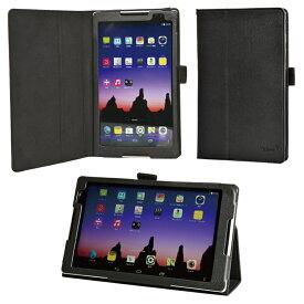 【タッチペン付】 wisers NEC LaVie Tab S タブレット 専用設計ケース 専用カバー 対象機種: TS708/T1W (PC-TS708T1W) , TS508/T1W (PC-TS508T1W) 全6色 ブラック・ホワイト・ダークブルー・ピンク・オレンジ・グリーン