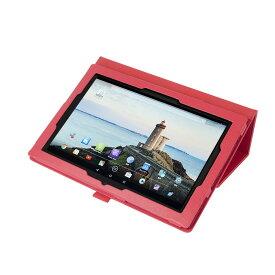 【タッチペン・フィルム付】 wisers 東芝 Toshiba Android (TM) タブレット A205SB SoftBank 専用モデル タブレット 専用 ケース カバー [2016 年 新型] 全10色 ブラック・ホワイト・ダークブルー・ブルー・スカイブルー・ライトピンク・ピンク・レッド・ブラウン・オレンジ
