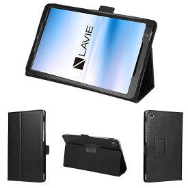 wisers 保護フィルム・タッチペン付き タブレットケース NEC LAVIE Tab E TE508/KAS PC-TE508KAS PC-TAB08H01(TAB08/H01) 8インチ 2020年新型 専用 ケース カバー 全6色 ブラック・ダークブルー・スカイブルー・ピンク・オレンジ・ゴールド