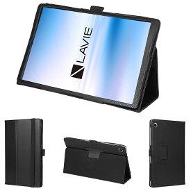 wisers 保護フィルム・タッチペン付き タブレットケース NEC LAVIE Tab E TE510/KAS PC-TE510KAS 10.3インチ 2020年新型 専用 ケース カバー 全6色 ブラック・ホワイト・ダークブルー・スカイブルー・ピンク・ゴールド