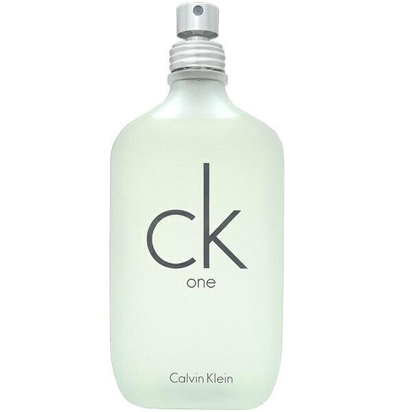 【訳あり】カルバン クライン CALVIN KLEIN シーケーワン EDT SP 200ml【テスター・未使用品】CK One【あす楽対応_14時まで】【香水 メンズ レディース】