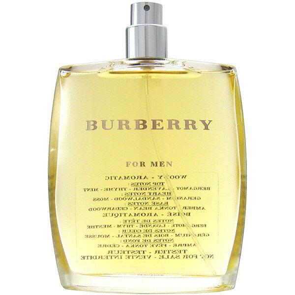 【訳あり】バーバリー BURBERRY バーバリー フォーメン EDT SP 100ml 【テスター・未使用品】Burberry FOR MEN Tester【あす楽対応_お休み中】【香水】【新生活 印象】