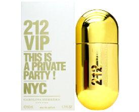 【キャロライナ ヘレラ】 212 VIP EDP SP 50ml 【あす楽対応_お休み中】【香水 メンズ レディース】【香水 ブランド 人気 ギフト 誕生日 プレゼント】