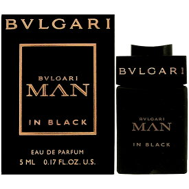 ブルガリ BVLGARI マン イン ブラック EDP BT 5ml 【ミニ香水 ミニボトル】【あす楽対応_14時まで】【香水 メンズ】【香水 人気 ブランド ギフト 誕生日 プレゼント】