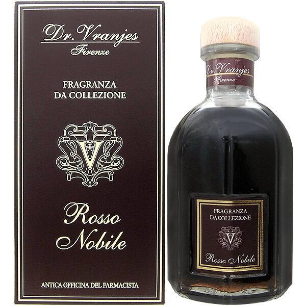 ドットール・ヴラニエス リードディフューザー ロッソ ノービレ(Rosso Nobile) 500ml【送料無料】(2755)【あす楽対応_14時まで】