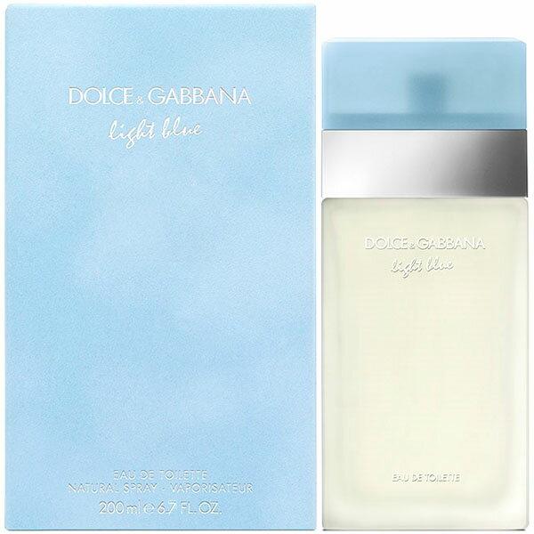 ドルチェ&ガッバーナ Dolce & Gabbana ライトブルー EDT SP 200ml LIGHT BLUE【送料無料】【あす楽対応_14時まで】【香水】【香水 メンズ レディース 多数取扱中】
