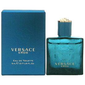 ヴェルサーチ VERSACE ヴェルサーチ エロス EDT BT 5ml Versace Eros【ミニ香水 ミニボトル】【あす楽対応_お休み中】【香水】【父の日 ギフト】