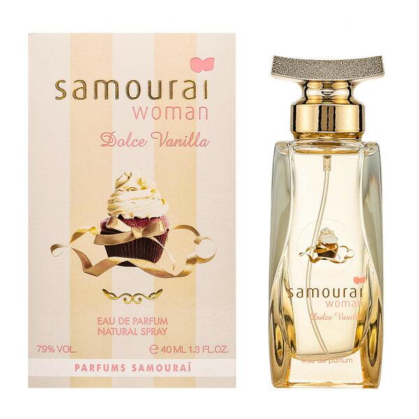 アランドロン Samourai Woman サムライウーマン ドルチェバニラ EDP SP 40ml Dolce Vanilla【感謝祭SALE】【あす楽対応_14時まで】【香水 レディース】