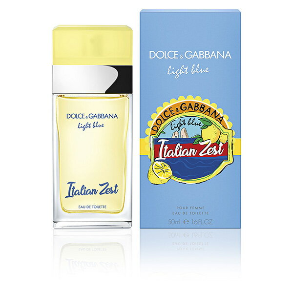 ドルチェ&ガッバーナ DOLCE&GABBANA ライトブルー イタリアン ゼスト EDT SP 50ml Light Blue Italian Zest【あす楽対応_14時まで】【香水 レディース】