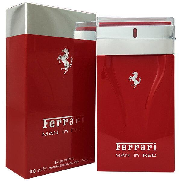 フェラーリ FERRARI マン イン レッド EDT SP 100ml MAN IN RED【あす楽対応_14時まで】【香水 メンズ】【クリスマス ギフト プレゼント】