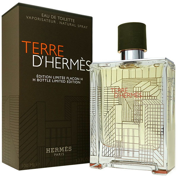 エルメス HERMES テール ドゥ エルメス Hボトル リミテッドエディション EDT SP 100ml 【送料無料】Hermes Terre D'hermes H Bottle Limited Edition【あす楽対応_お休み中】