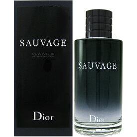クリスチャン ディオール Dior ディオール ソバージュ EDT SP 200ml【送料無料】 【EARTH】Christian Dior Sauvage【あす楽対応_お休み中】【香水 メンズ】【香水 人気 ブランド ギフト 誕生日 プレゼント】