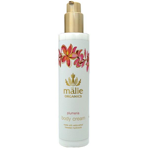 マリエオーガニクス Malie Organics ボディクリーム プルメリア 222ml Body Cream Plumeria【あす楽対応_14時まで】【香水 メンズ レディース】