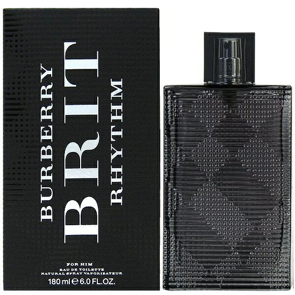 【バーバリー】 ブリット リズム フォーメン EDT SP 180ml BURBERRY BRIT RHYTHM FOR HIM【あす楽対応_14時まで】【香水】