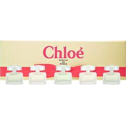 クロエ CHLOE クロエ ミニセット (クロエ EDP 5ml×2、ローズ ド クロエ EDT 5ml×2、ロードクロエ EDT 5ml×1)【あす楽対応_14時まで】【香水 レディース】【EARTH】